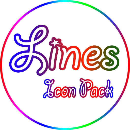 Color lines - Icon Pack 1.9
