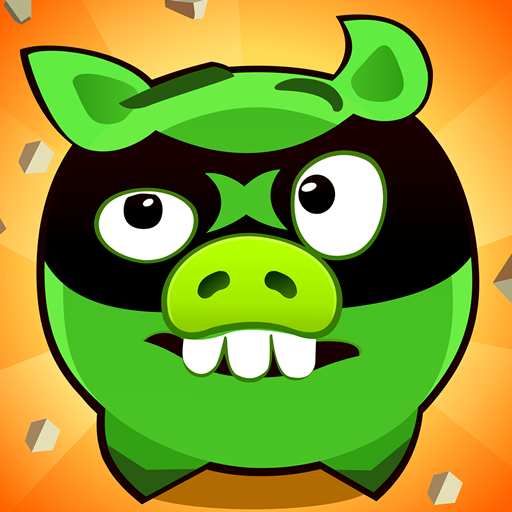 Fire Piggy -- hit the bad piggy brain game 2.68