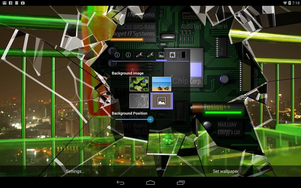 Get Cracked Screen Gyro 3D Parallax Wallpaper HD APK