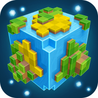 Planet of Cubes Survival Craft 4.4.4