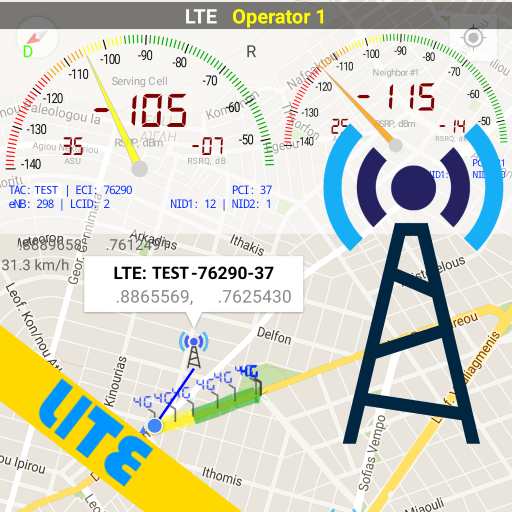Network Cell Signal & WiFi Info Lite 4.21.0